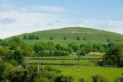 холм Англии Стоковые Изображения
