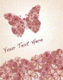 холм бабочки Стоковая Фотография