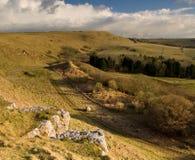 холм Великобритания eggardon dorset Стоковое Фото