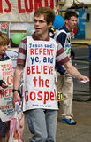 холм демонстрантов масленицы христианский notting Стоковое Изображение RF