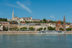 Холм замока в Будапешт, Венгрии стоковое фото rf