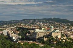 холм замока budapest стоковые фотографии rf