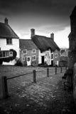 холм золота dorset Англии shaftesbury Стоковые Фотографии RF