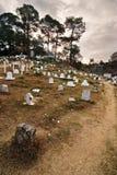 холм кладбища Стоковые Фотографии RF