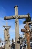 Холм крестов Стоковые Изображения RF