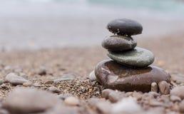 Холм от камней моря Стоковое Изображение