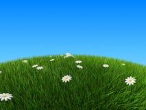 холм стилизованный Стоковые Фото