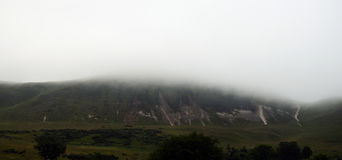 холм тумана Стоковое Изображение