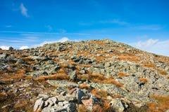 холм утесистый Стоковая Фотография RF