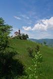 холм церков сиротливый Стоковые Фотографии RF