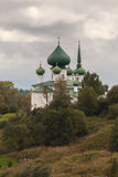 холм церков Стоковые Фото