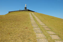 холм christ Стоковое Фото