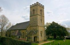 Холм Crockham, Кент, Великобритания r Церковь святой троицы стоковые фото
