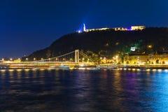 холм gellert budapest стоковое изображение