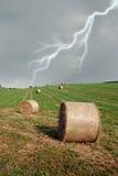 холм ont сена bales Стоковые Изображения