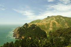 холм san francisco залива зеленый Стоковые Изображения RF