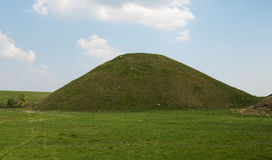 холм silbury Стоковое Фото