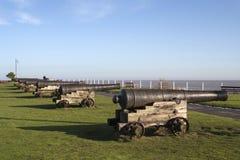 Холм Southwold пушки, суффольк, Англия Стоковые Фото