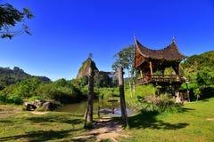 Холм Takuruang большинств красивые места, который нужно посетить в Индонезии стоковое фото rf