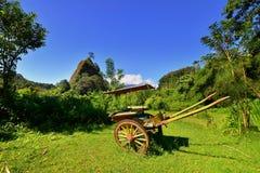 Холм Takuruang большинств красивые места, который нужно посетить в Индонезии стоковые изображения