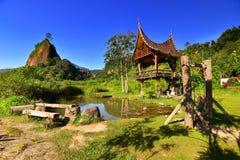 Холм Takuruang большинств красивые места, который нужно посетить в Индонезии стоковое изображение
