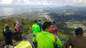 Холм Tinagat на Tawau, Сабахе, Малайзии Стоковое Изображение