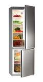 холодильник inox Стоковое Изображение