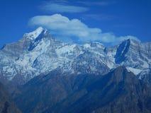 Холодная гора в uttranachal-4 стоковое изображение