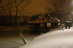 холодная гостиница Стоковые Изображения