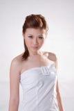 холодная девушка oriental Стоковые Фото