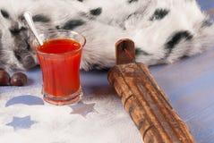 Холодная зима на дому стоковое фото