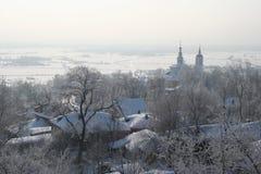 холодная зима Стоковое Изображение