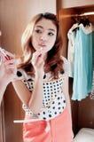 холодная модель девушок подростковая Стоковое фото RF