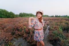 холодная модель девушок подростковая Стоковые Фотографии RF