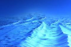 Холодная предпосылка мира чужеземца Стоковые Изображения