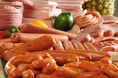 холодное мясо Стоковая Фотография RF