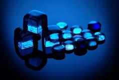 холодное стекло Стоковые Фотографии RF
