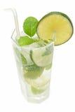 холодное mojito питья Стоковые Изображения RF