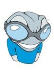 холодное techno лягушки Стоковые Фотографии RF