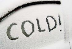 холодно Стоковые Изображения RF