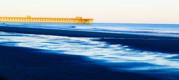 Холодные воды в Myrtle Beach Стоковые Фотографии RF
