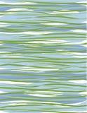 холодные волны нашивок волнистые Стоковые Фото