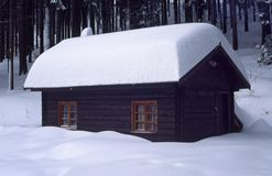 холодные горы Стоковые Изображения