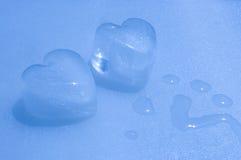 холодные сердца морозят страсть Стоковое Изображение RF
