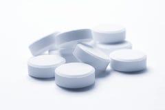 холодные тоны таблеток Стоковые Фотографии RF