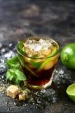 Холодные refreshiing libre или чай со льдом Кубы коктеиля лета с lim Стоковое фото RF