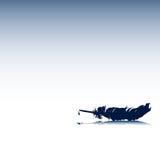 холодный вектор шаблона eps Стоковая Фотография