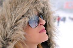 холодный взгляд Стоковая Фотография