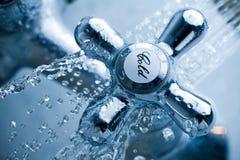 холодный кран Стоковые Фотографии RF