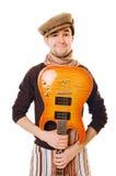 холодный музыкант Стоковое фото RF
